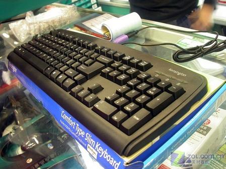 kensington键盘黑色键盘,其采用专业弧面键帽结构