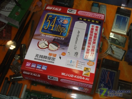智能高速 BUFFALO无线网卡降到245元