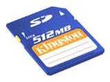 金士顿 高速SD卡(512MB)