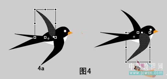 飞行的燕子简笔画